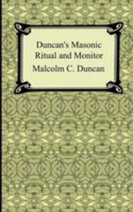 Duncan's Masonic Ritual And Monitor - 2849004827
