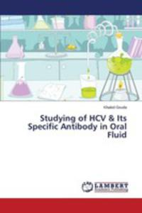 Studying Of Hcv & Its Specific Antibody In Oral Fluid - 2857258341