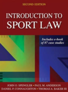 Introduction To Sport Law - 2840856693