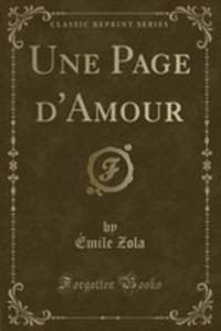 Une Page D'amour (Classic Reprint) - 2854023814