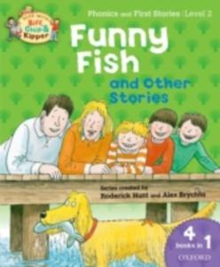 Oxford Reading Tree Read With Biff, Chip, And Kipper: Level 2 Phonics & First Stories: Funny Fish And Other Stories - 2860005869