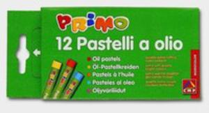 Pastele Olejne Okrągłe Primo 12 Sztuk - 2870381950