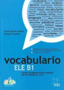 Vocabulario Ele B1 Książka - 2848631999