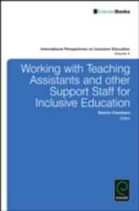 Working With Teaching Assistants And Other Support Staff For Inclusive Education - 2860199164