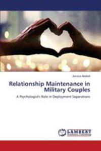 Relationship Maintenance In Military Couples - 2860683491