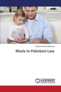Khula In Pakistani Law - 2860672437