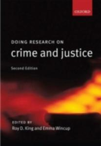 Doing Research On Crime And Justice - 2841490317