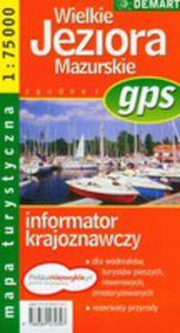 Wielkie Jeziora Mazurskie Mapa Turystyczna - 2839267379