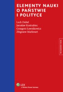 Elementy Nauki O Państwie I Polityce - 2841687895