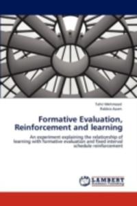 Formative Evaluation, Reinforcement And Learning - 2857125828