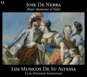 Jose De Nebra: Amor Aumenta El Valor - 2839271422