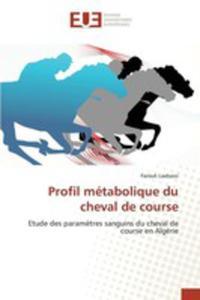 Profil Métabolique Du Cheval De Course - 2860702802