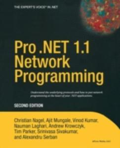 Pro . Net 1. 1 Network Programming - 2849505338