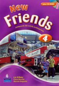 New Friends 4 - Students' Book Plus Cd Rom [Książka Ucznia Plus Cd-rom] - 2839265975