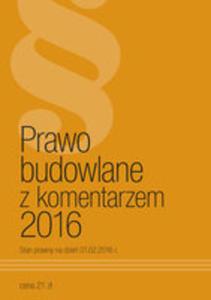 Prawo Budowlane Z Komentarzem 2016