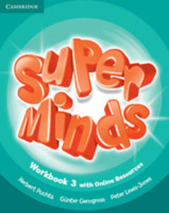 Super Minds 3 Workbook +online - 2840126960