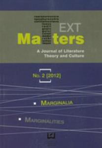 Text Matters A Journal Of Literature Theory And Culture 2/2012 - 2870126791