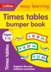 Times Tables Bumper Book Ages 7 - 11 - 2846039098