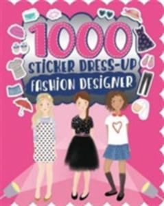 1000 Sticker Dress - Up Fashion Designer - 2840252447