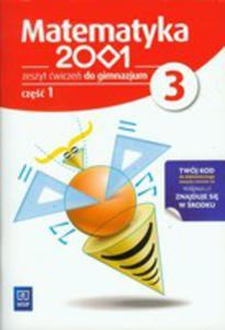 Matematyka 2001 3 Zeszyt Ćwiczeń Część 1 - 2839330041