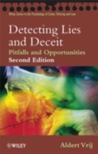 Detecting Lies And Deceit - 2846020755