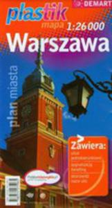 Warszawa. Mapa Plastik W Skali 1:26000 - 2839272020