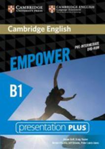 Cambridge English Empower Pre-intermediate Presentation Plus - 2840387062