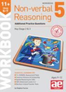 11 + Non - Verbal Reasoning Year 5 - 7 Workbook 5 - 2840125914
