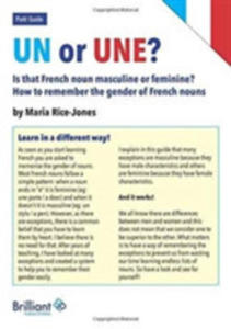 Un Or Une? Is This French Word Masculine Or Feminine? - 2849525204