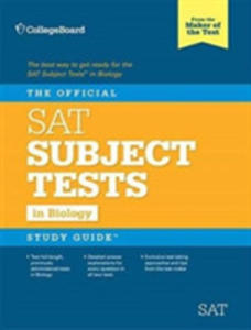 The Official Sat Subject Test In Biology Sudy Guide - 2848636685