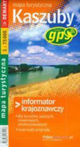 Kaszuby Mapa Turystyczna - 2839276994
