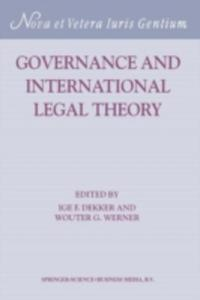 Governance And International Legal Theory - 2857156971