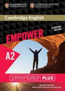 Cambridge English Empower Elementary Presentation Plus Dvd - 2840388356