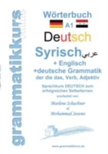 Worterbuch Deutsch - Syrisch - Englisch A1 - 2857212404