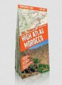 Comfort! Trekking Map High Atlas Morocco 1:100 000 - 2840168342