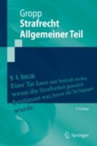 Strafrecht Allgemeiner Teil - 2840159348