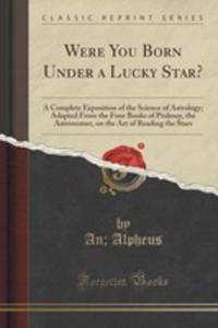 Were You Born Under A Lucky Star? - 2852848490