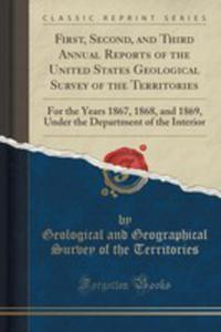 First, Second, And Third Annual Reports Of The United States Geological Survey Of The Territories - 2852893683