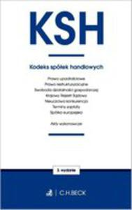 Kodeks Spółek Handlowych Oraz Ustawy Towarzyszące - 2846956982