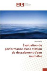 Évaluation De Performance D'une Station De Dessalement D'eau Saumâtre - 2860702726