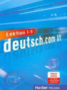 Deutsch.com 1/1 Arbeitsbuch + Cd Edycja Polska - 2849896330