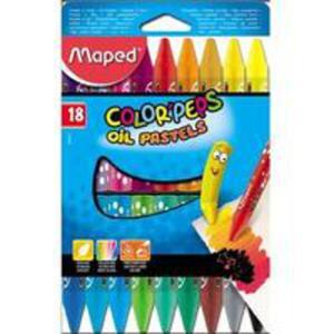 Kredki Colorpeps Pastele Olejne 18 Kolorów Maped - 2840296852
