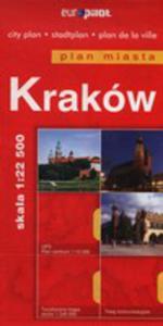 Krak�w Plan Miasta 1:22 500 - 2840096608