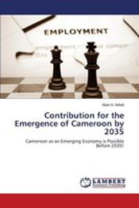 Contribution For The Emergence Of Cameroon By 2035 - 2857251828