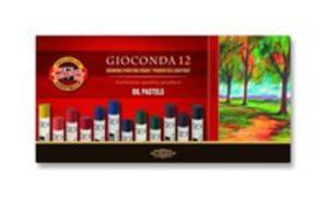 Pastele Olejne Gioconda 12 Kolorów - 2850835246