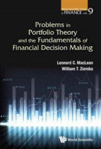 Problems In Portfolio Theory And The Fundamentals Of Financial Decision Making - 2849941521