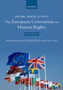 Jacobs, White & Qvey: The European Convention On Human Rights - 2840843656