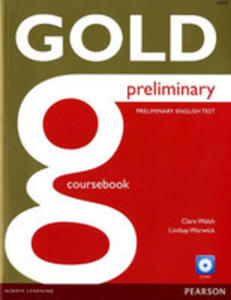Gold Preliminary Coursebook With Cd-rom Pack - 2856639733