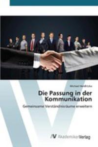 Die Passung In Der Kommunikation - 2857252006