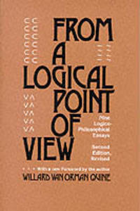 From A Logical Point Of View - 2849502010